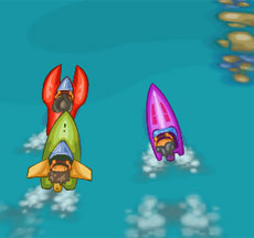 Micro Boats Race